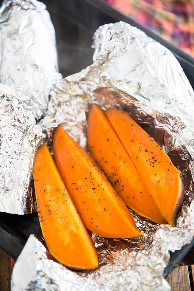 Baked Sweet Potatoes by Sonia! The Healthy Foodie | Recipe on thehealthyfoodie.com