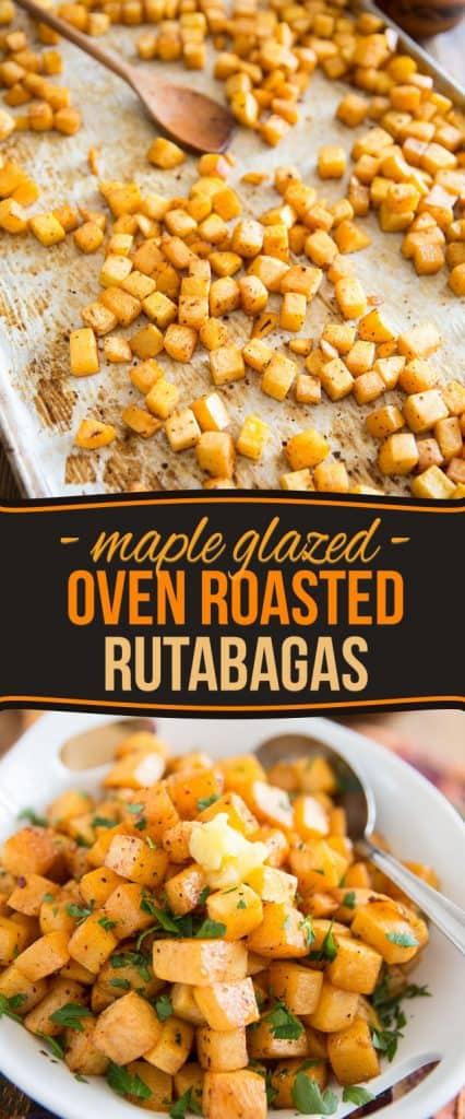Think you're not a fan of rutabaga? Think again. Just one taste of these Maple Glazed Oven Roasted Rutabagas will have you totally begging for more!