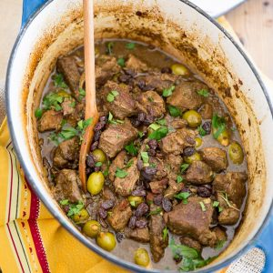 Moroccan Style Braised Lamb Stew