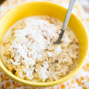 Pineapple Coconut Overnight Oats