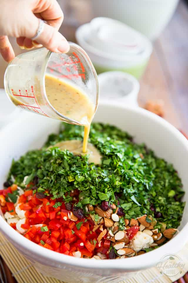 Chopped Veggie Overload Salad by Sonia! The Healthy Foodie | Recipe on thehealthyfoodie.com