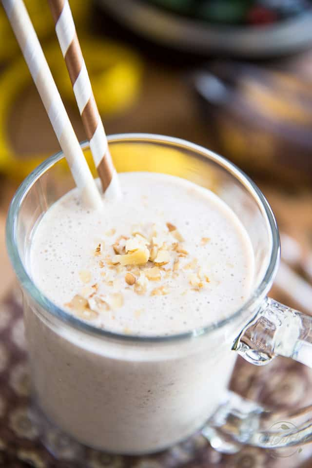Post Workout Banana Bread Protein Shake by Sonia! The Healthy Foodie | Recipe on thehealthyfoodie.com