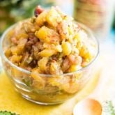 This Sweet and Sour, Hot and Spicy Pineapple Chutney is so good, you'll want to put it on or in everything, from grilled chicken to hamburgers to ice cream!