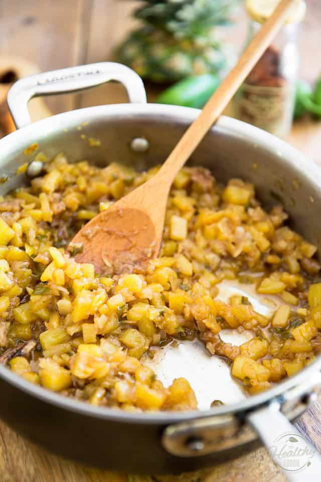 Sweet and Sour, Hot and Spicy Pineapple Chutney by Sonia! The Healthy Foodie | Recipe on thehealthyfoodie.com