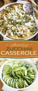 This Cheesy Zucchini Casserole, you won't believe how good it smells as it bakes... honestly, it fills the house with such a delicious fragrance, you'll probably want to make it regularly if only for that reason!