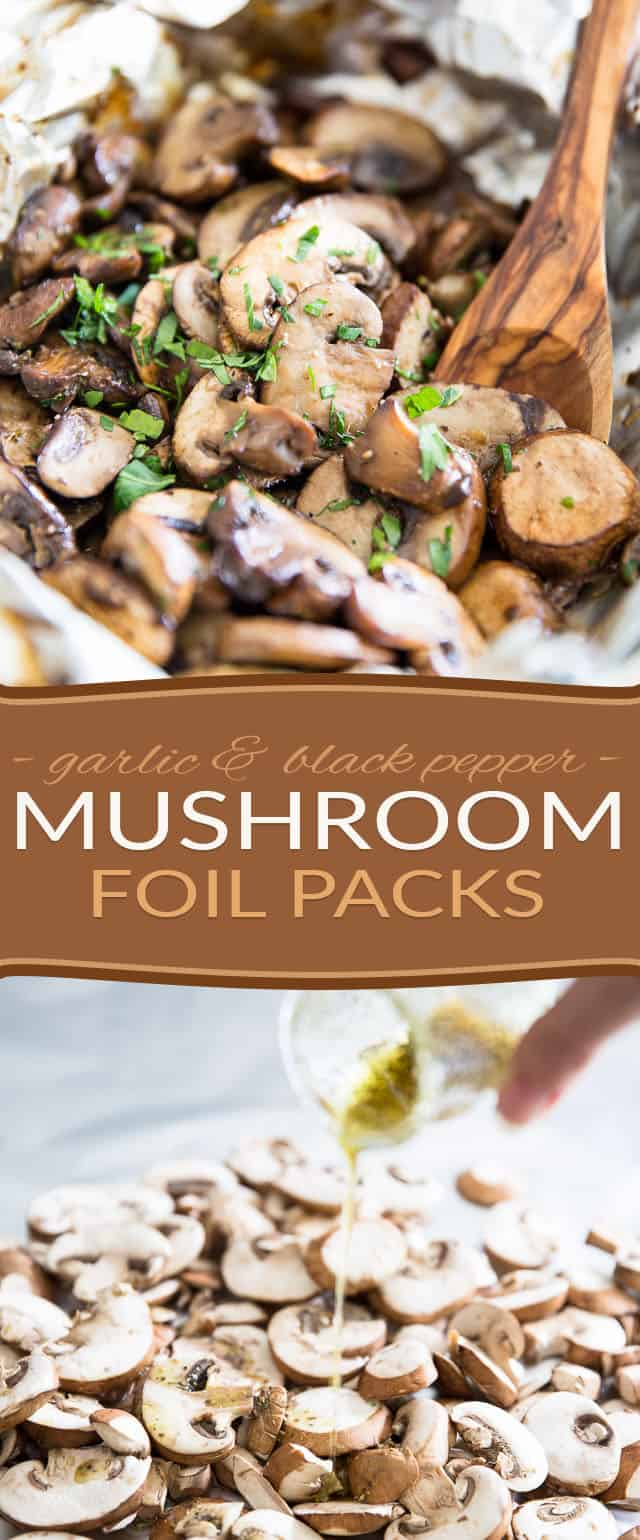 Mushroom Foil Pack by Sonia! The Healthy Foodie | Recipe on thehealthyfoodie.com