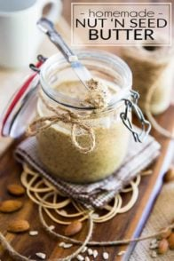 Nut N Seed Butter by Sonia! The Healthy Foodie | Recipe on thehealthyfoodie.com