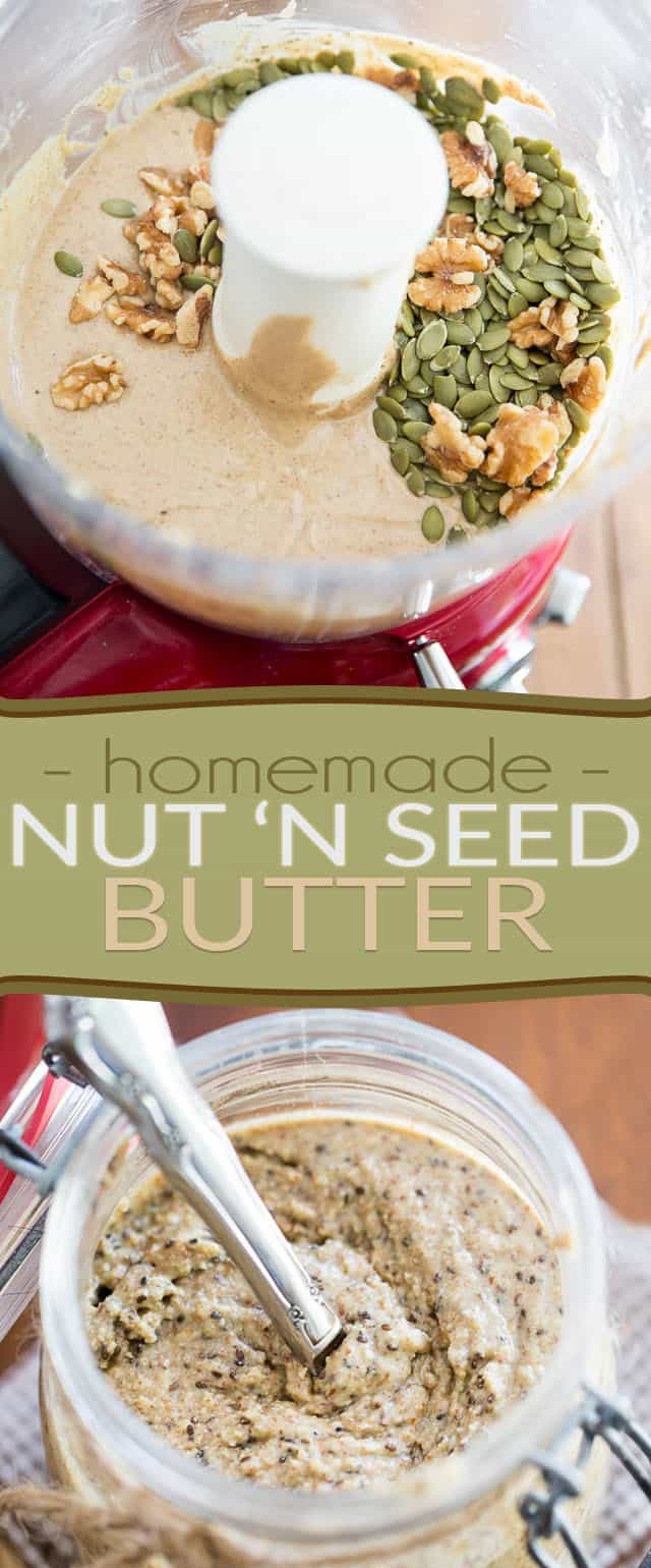 Kick up your mornings and make your breakfast memorable with this amazing homemade Nut N Seed butter. So good, you'll never go for store-bought ever again!