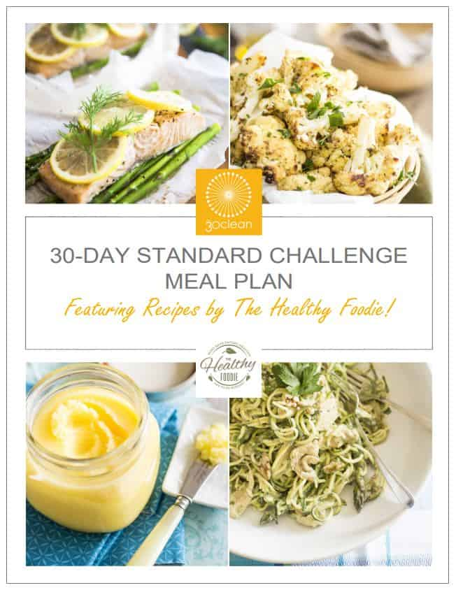 30Clean Meal Plan Cover