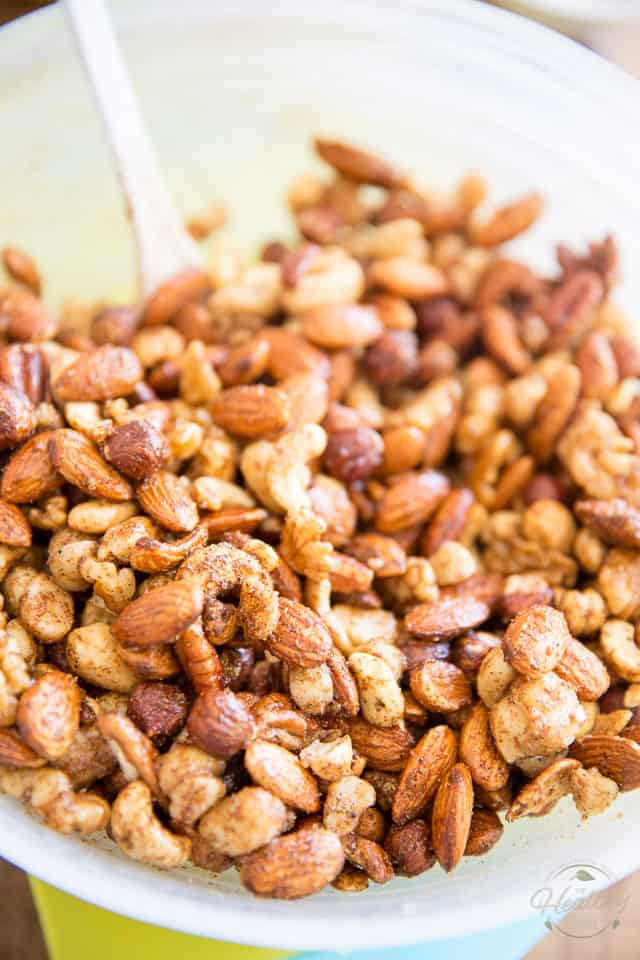 Indian Spiced Nuts by Sonia! The Healthy Foodie | Recipe on thehealthyfoodie.com