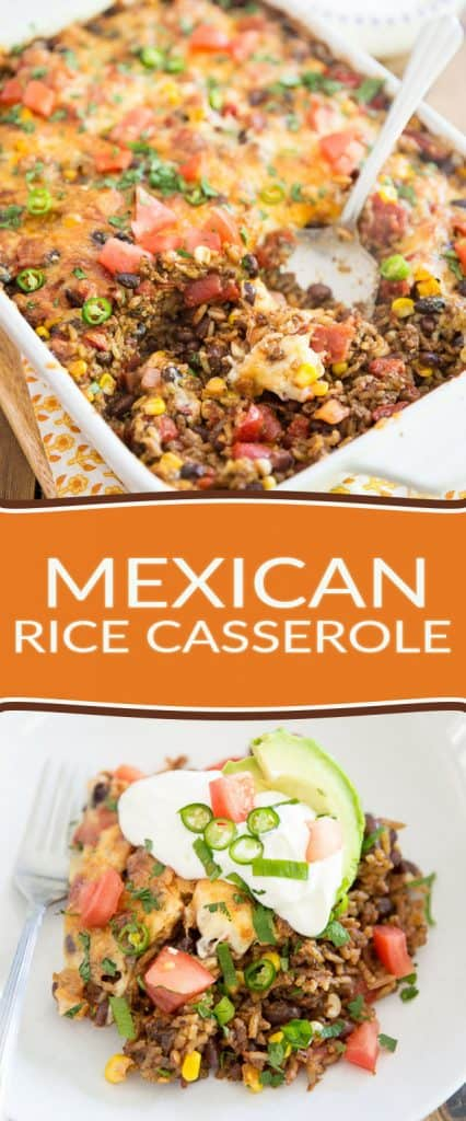 As comforting as it is tasty, this Mexican Rice Casserole is guaranteed to get the whole family running to the dinner table. No need to tell them it's actually good for them!