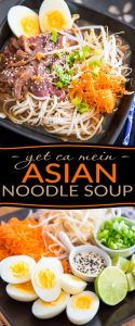 Who needs take out? Bring a touch of exoticism to your table with this crazy delicious and super versatile Yet Ca Mein Asian Noodle Soup.