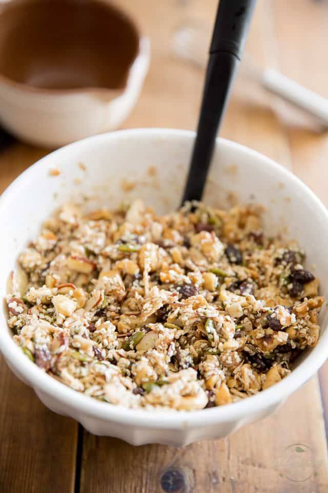 Grain Free Granola by Sonia! The Healthy Foodie | Recipe on thehealthyfoodie.com