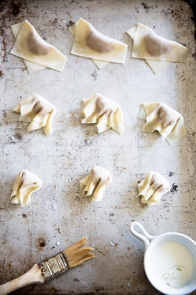 Hunan Dumplings by Sonia! The Healthy Foodie | Recipe on thehealthyfoodie.com