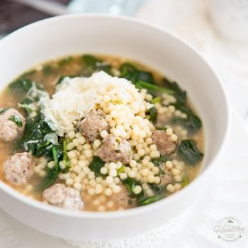 Italian Wedding Soup by Sonia! The Healthy Foodie | Recipe on thehealthyfoodie.com