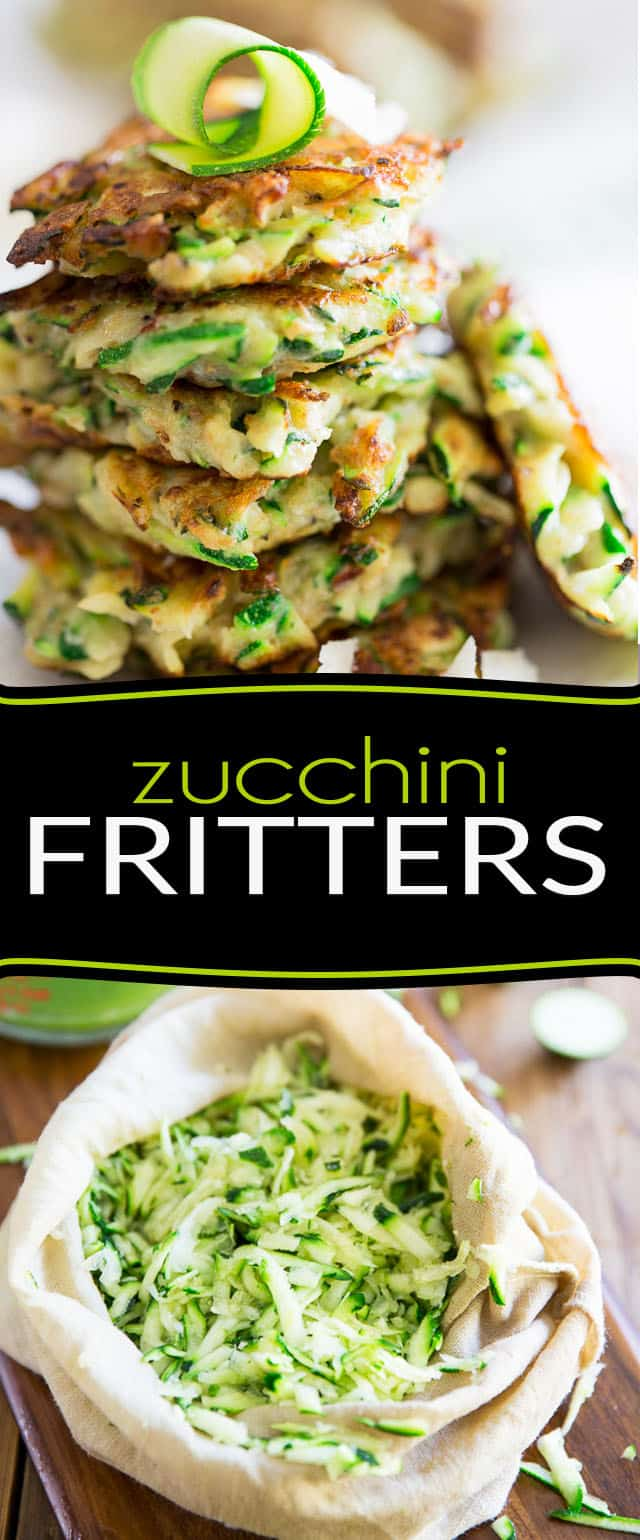 Quick and easy to make, these Zucchini Fritters make for a healthy appetizer, side dish, light meal or even snack. They're bound to become a favorite!