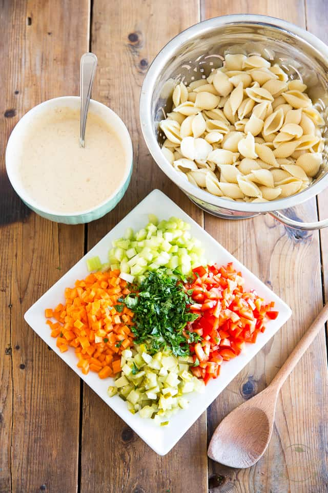 Any Occasion Pasta Salad by Sonia! The Healthy Foodie   Recipe on thehealthyfoodie.com
