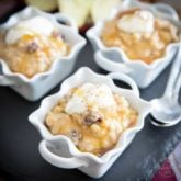 Apple Cinnamon Barley Pudding by Sonia! The Healthy Foodie | Recipe on thehealthyfoodie.com