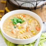 Creamy Chicken Noodle Soup by Sonia! The Healthy Foodie | Recipe on thehealthyfoodie.com