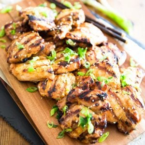 Sesame Maple Grilled Chicken