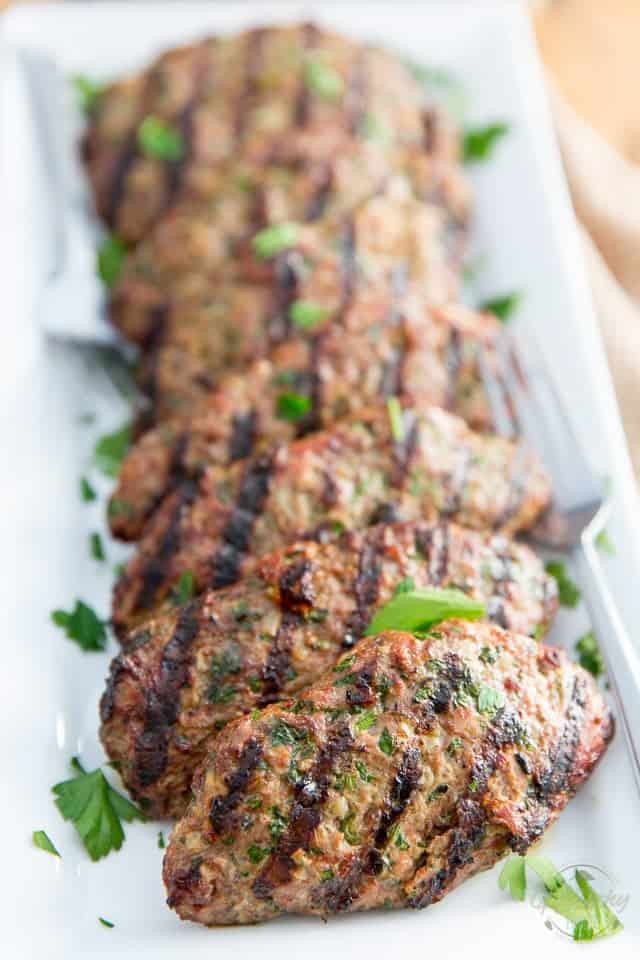 Unkabobed Kafta Kabobs by Sonia! The Healthy Foodie | Recipe on thehealthyfoodie.com
