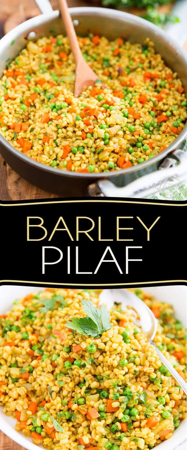 Change things up a bit and put this Barley Pilaf on your table today - I'm sure you'll agree that it's a delicious twist on a great classic!