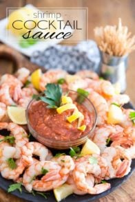 Shrimp Cocktail Sauce by Sonia! The Healthy Foodie | Recipe on thehealthyfoodie.com