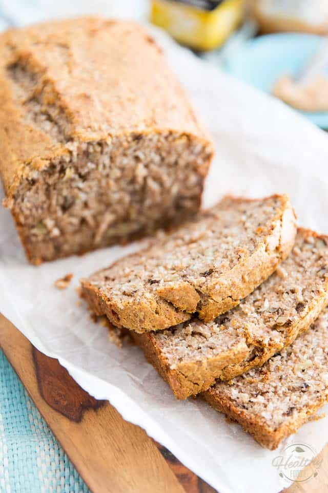 Sugar Free Coconut Banana Bread by Sonia! The Healthy Foodie | Recipe on thehealthyfoodie.com