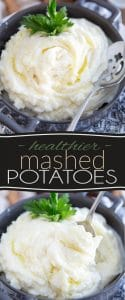 Here's proof that mashed potatoes don't need to be filled with all kinds of cream, fat and butter to be light, creamy, fluffy and so deliciously comforting!
