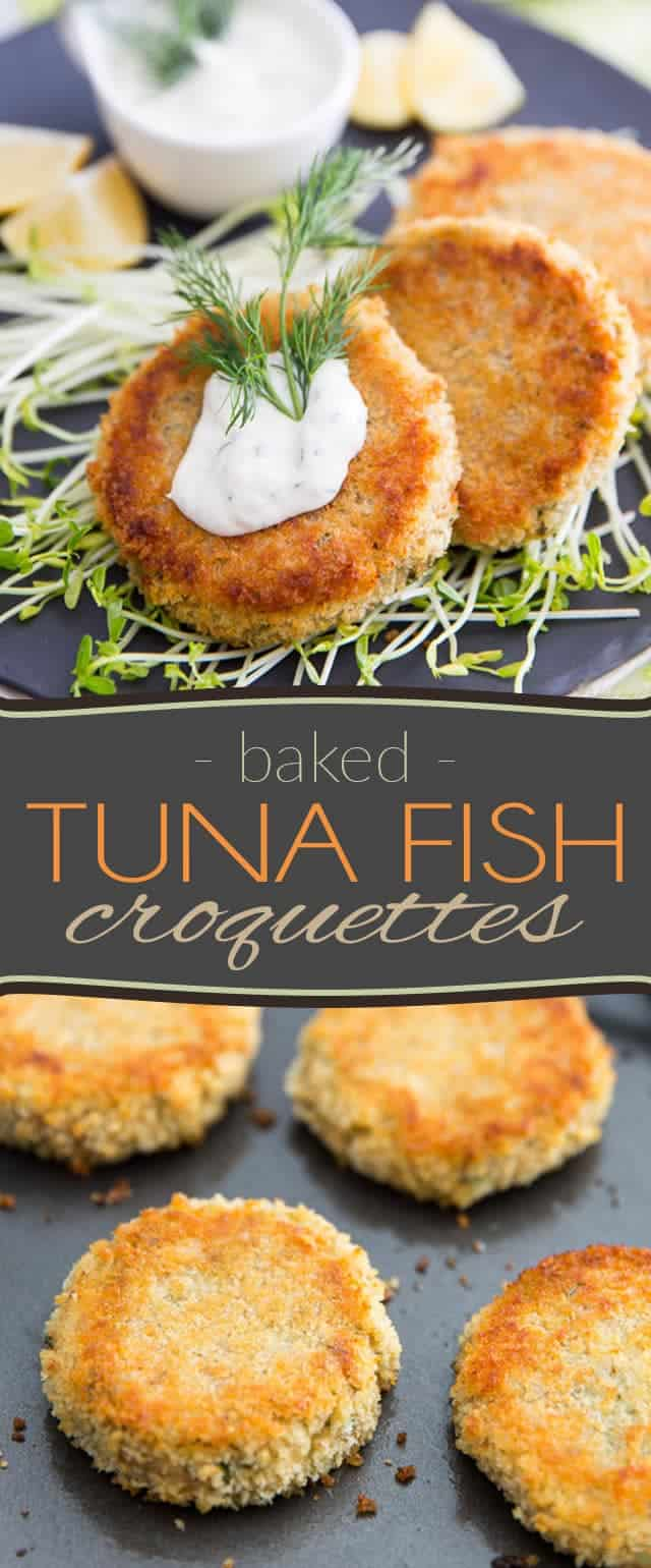 These Tuna Fish Croquettes are a delicious way to use leftover mashed potatoes and probably the best use of canned tuna, ever!