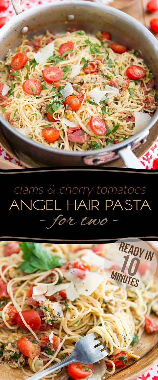 R Clams Healthy Clams and Cherry Tomat...