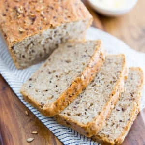 Multigrain No Knead Country Bread