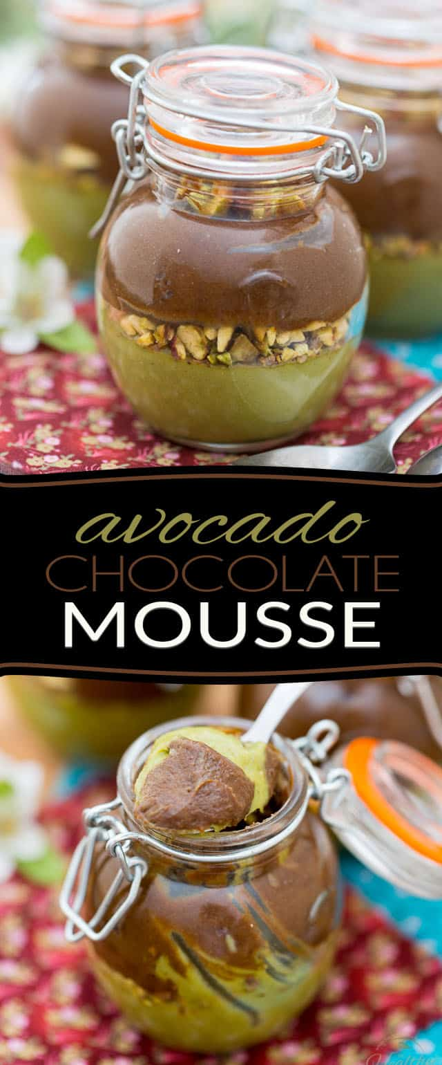 Quick and easy to make, this Avocado Chocolate Mousse is made with nothing but wholesome, nutritious ingredients. A super elegant and healthy treat that you can eat without feeling even an ounce of guilt.