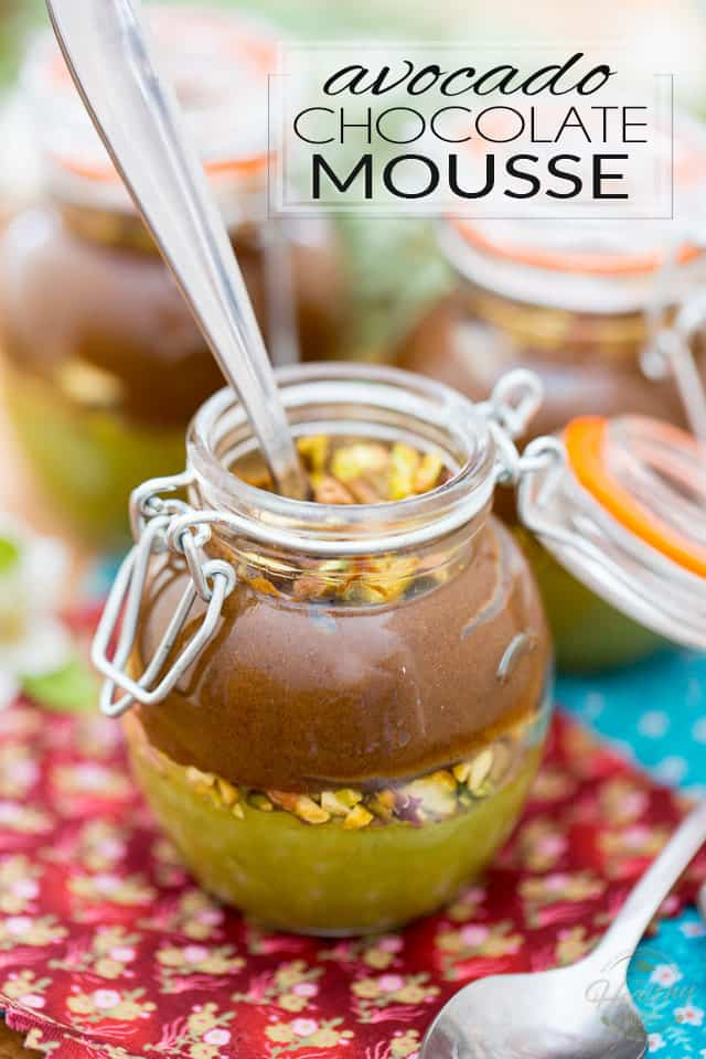 Avocado Chocolate Mousse • The Healthy Foodie