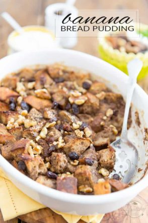Once you've tried that Banana Bread Pudding, you'll never again wonder what to do with those overripe bananas sitting on the counter and that loaf of stale bread slowly drying away in the pantry... And did I mention it was entirely free of refined sugar?