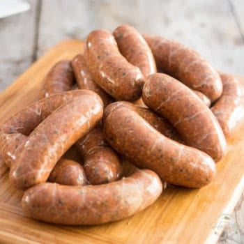 These Gluten Free Homemade Italian Sausages have all of the flavor, but none of the fillers! Try them once, you'll never go back
