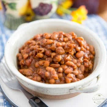 Old Fashioned Baked Beans