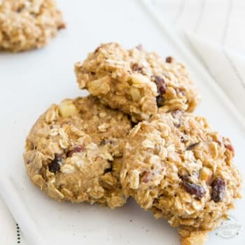 Crazy Healthy Oatmeal Cookies – No Sugar Added