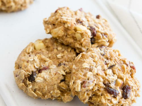 Crazy Healthy Oatmeal Cookies No Sugar Added The Healthy Foodie