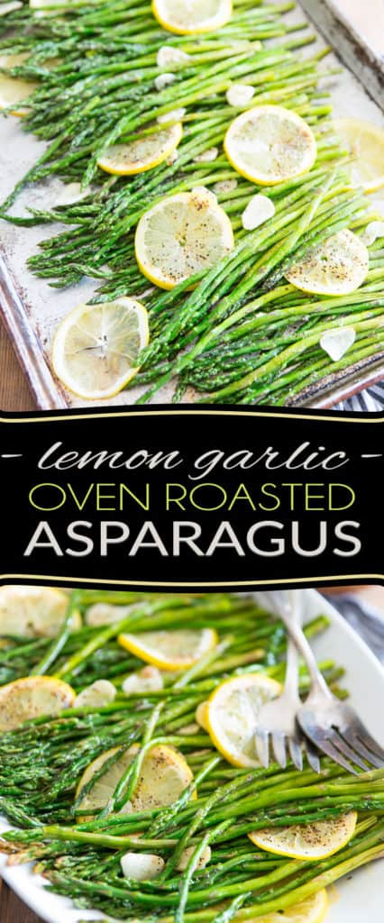 Making these Lemon Garlic Oven Roasted Asparagus is probably the easiest, simplest but most delicious way to cook asparagus. It requires close to no effort on your part... the oven does all the work for you!