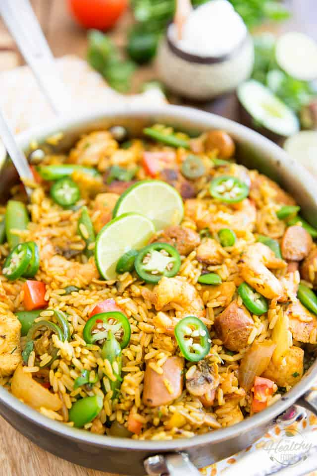 Spanish Rice Casserole by Sonia! The Healthy Foodie | Recipe on thehealthyfoodie.com