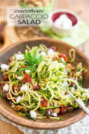 As tasty and refreshing as it is unique, this Zucchini Carpaccio Salad is filled with wholesome and nutritious ingredients that'll do your mind and body good!