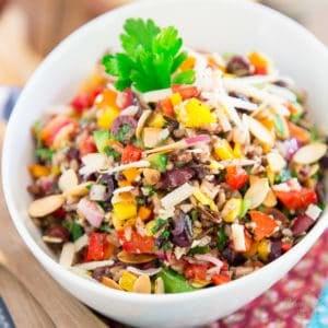Bell Pepper Wild Rice Salad