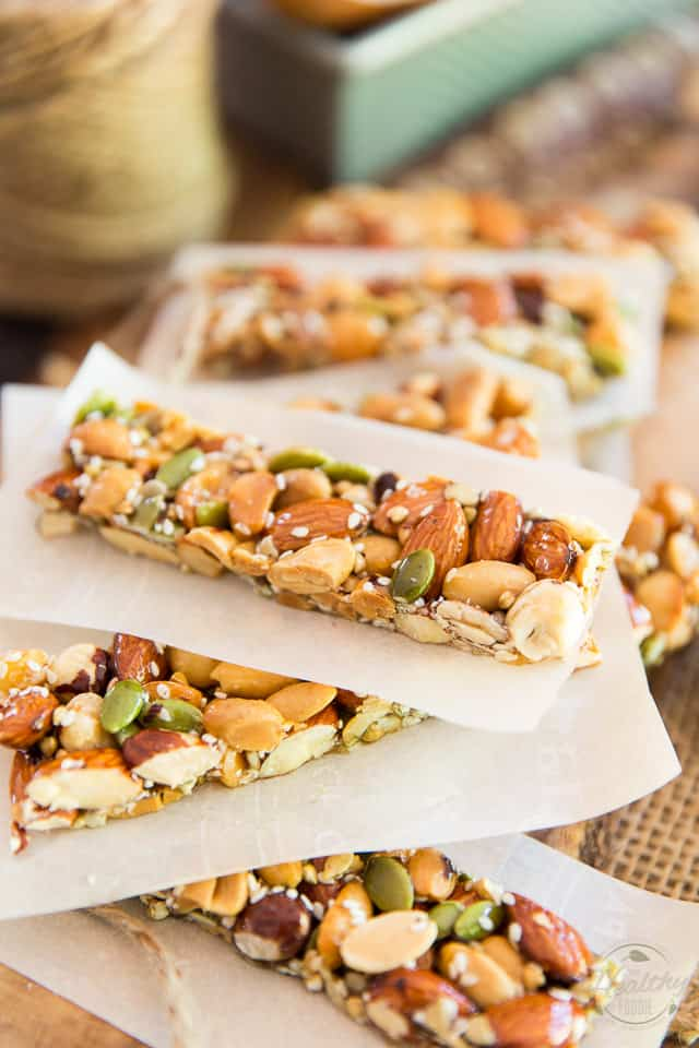 KIND Nut Bars are such a delicious snack but can be a tad on the pricey side. Learn how to easily make your own for a fraction of the price!