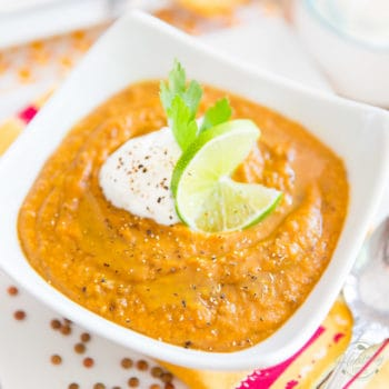 Sweet Potato Lentil Soup