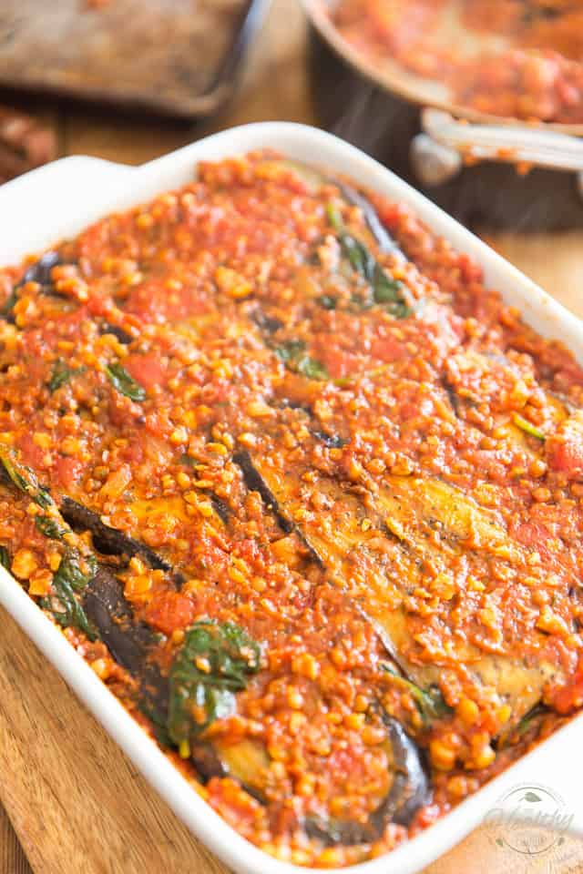 Healthy Vegetarian Moussaka