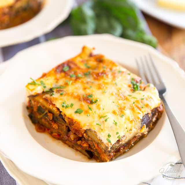 Healthy Vegetarian Moussaka