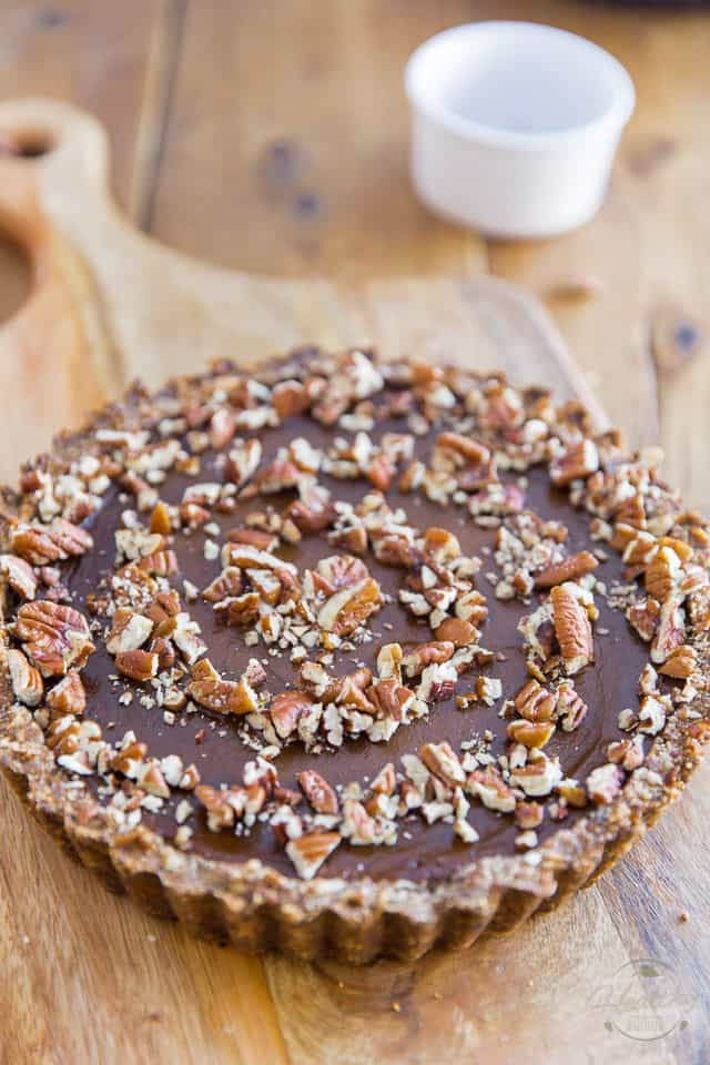 Spiced Butternut Squash Pecan Pie by Sonia! The Healthy Foodie | Recipe on thehealthyfoodie.com