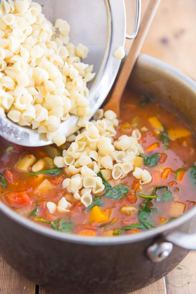 Vegan Minestrone Soup by Sonia! The Healthy Foodie | Recipe on thehealthyfoodie.com