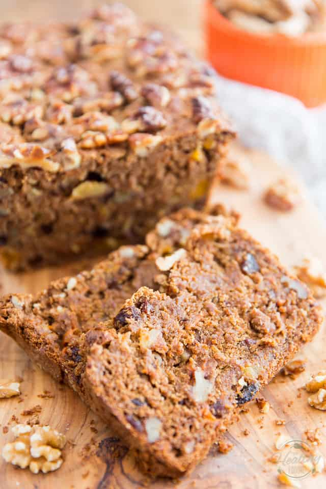 Vegan Carrot Bread by Sonia! The Healthy Foodie | Recipe on thehealthyfoodie.com